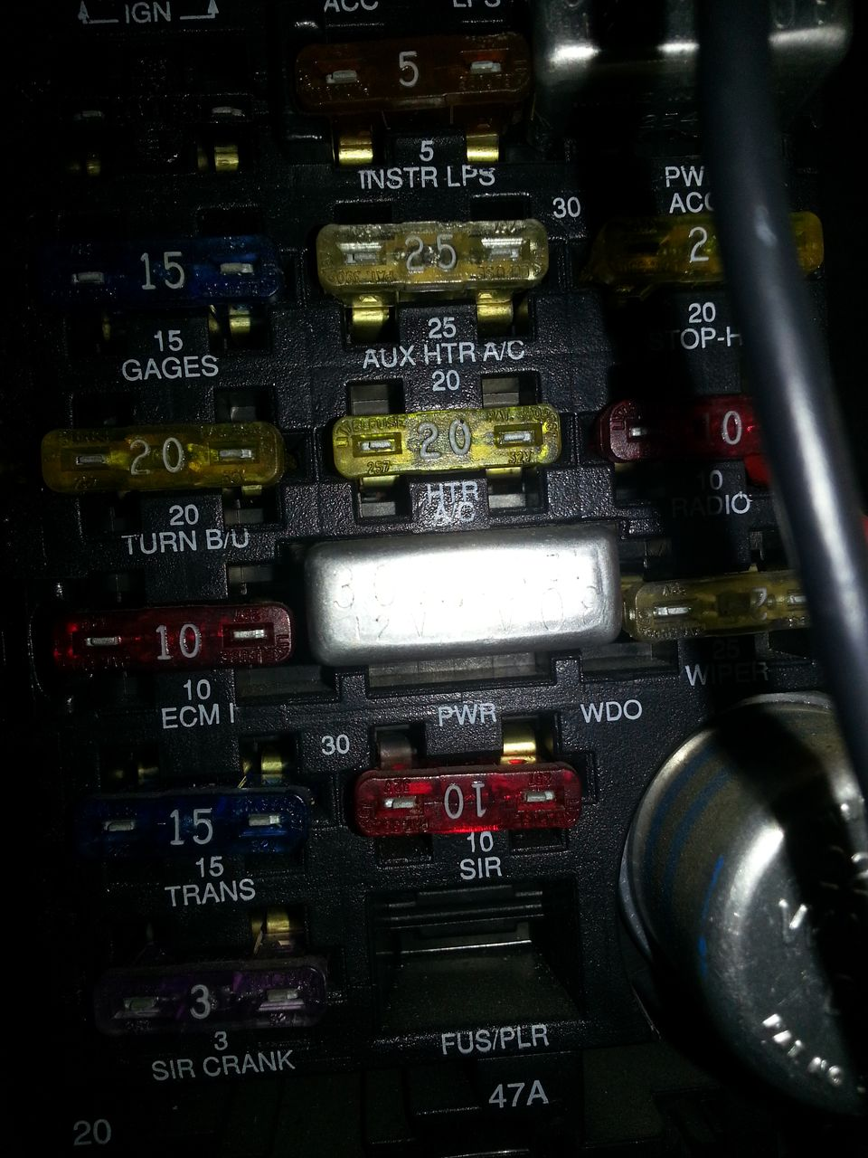 Infiniti M35x Fuse Box Diagram